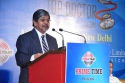 Dr. Bhalchandra Mungekar addressing the Audience