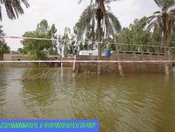 Flood Affected School of District Muzaffargarh, Pakistan.