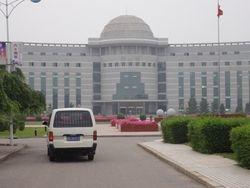Subway of Shenyang Medical College, China.