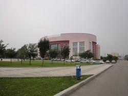 Dinning Hall No 1 of Shenyang Medical College, China.
