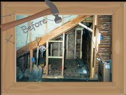 Girl's Bedroom Under Construction