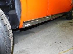 Rocker trim molding installed (DS)