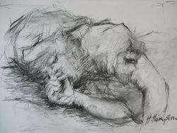 Rachel sleeping.1