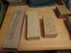 Logs of soap