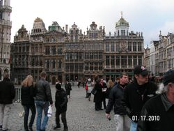 Sightseeing in Brussels