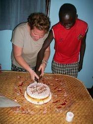 Happy Birthday to me and Godfrey