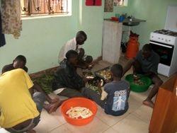 Cooking (Ugandan style)