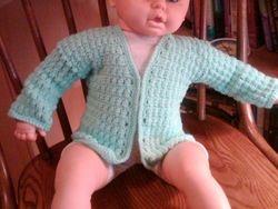 Baby sweater by Jo Ann