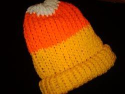 Candy corn hat by Jo Ann