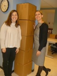 Gina and her friend shipping to Romania