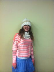 Modeling the hat and scarf
