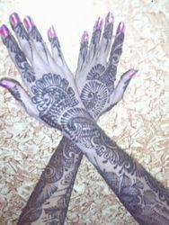 Mehendi on back of Hands