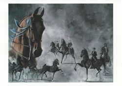 Saddlebreds on Parade