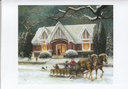 Durand Library...A Winter's Story
