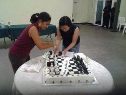 De schaaktaart