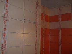 Amenajare baie design placare fasi si benzi,verticale si orizontale