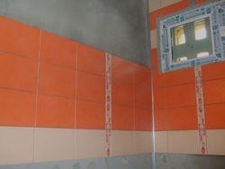 etape de lucru placare faianta baie