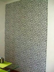 Tapet de vinil in relief cu forme geometrice