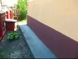 Aplicat tencuiala mozaicata soclu casa si imagini pavat dale