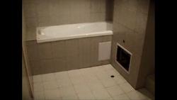 Imagini poze amenajari interioare baie fotografii bai greise faianta de culoare nuanta gri deschis