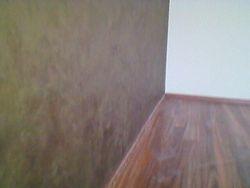 Aplicat Vopsea decorativa Chiffon in dormitor