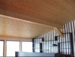 Interior poza Aplicat montat tapet lambriuri