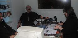 Bj�rn, Rune og programleder i radiostudio