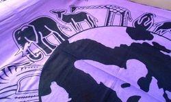 Bedspread Purple