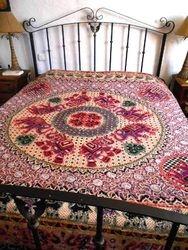 Bedspread Indian Elephants