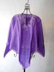 Poncho Monica Purple