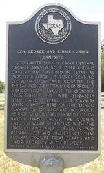 GENERAL GEORGE AND LIBBIE CUSTER CAMPSITE