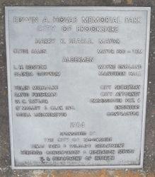 Edwin A Hovis Memorial Park