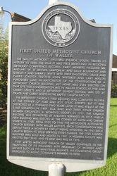 FIRST UNITED METHODIST CHURCH OF WALLER