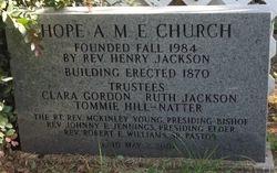 ST. FRANCIS EPISCOPAL/HOPE A.M.E. CHURCH