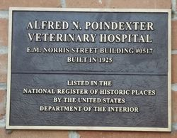ALFRED N. POINDEXTER VETERINARY HOSPITAL