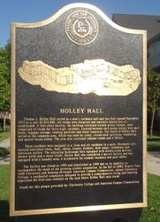 HOLLEY HALL