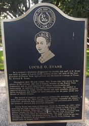 LUCILE O. EVANS