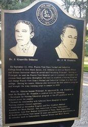 DR. J. GRANVILLE OSBORNE AND DR. J. M. FRANKLIN