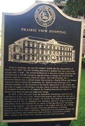 PRAIRIE VIEW HOSPITAL