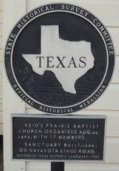 Reid's Prairie Baptist Church