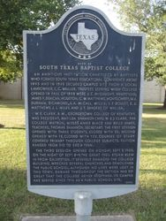 SOUTH TEXAS BAPTIST COLLEGE