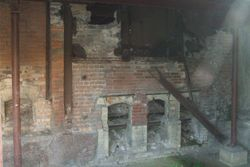Where bodies were cremated....