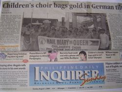 Inquirer Metro Frontpage