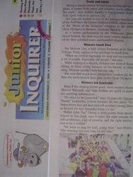 Junior Inquirer Special Feature