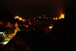 Monschau by night