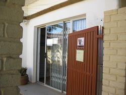 Entrance to centre