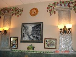 Bell 'Italia interior walls