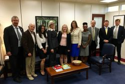 Meeting with Sen. Menendez's Staff