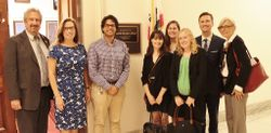 Meeting with Rep. Roybal-Allard's Staff