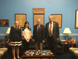 Meeting with Sen. Walberg
